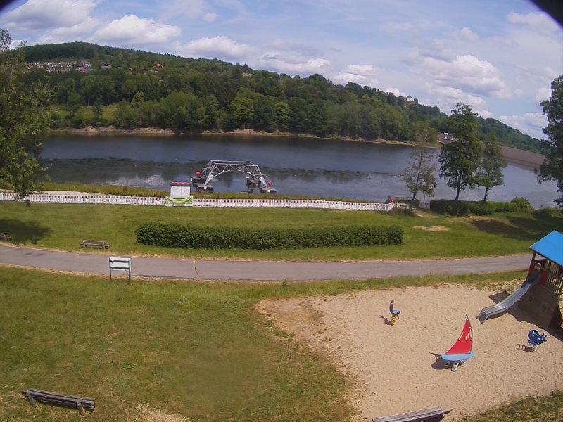 WebCam-Aufnahme am Kronenburger See